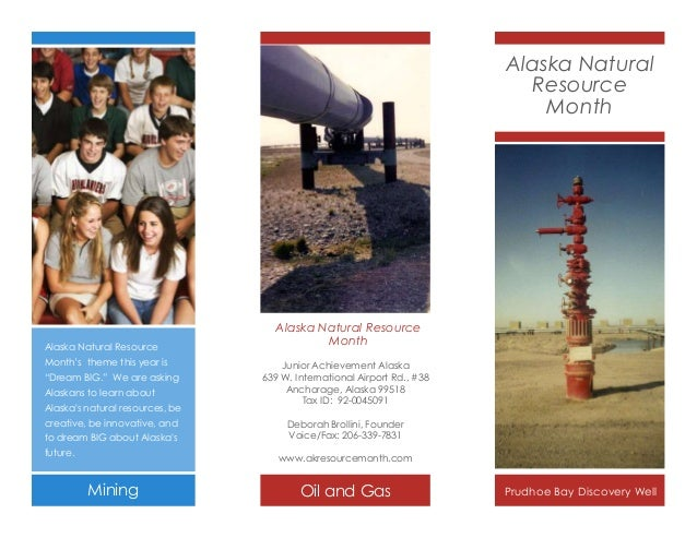 """Alaska Natural Resource Month  Alaska Natural Resource Month's theme this year is """"Dream BIG."""" We are asking  Alaskans to ..."""