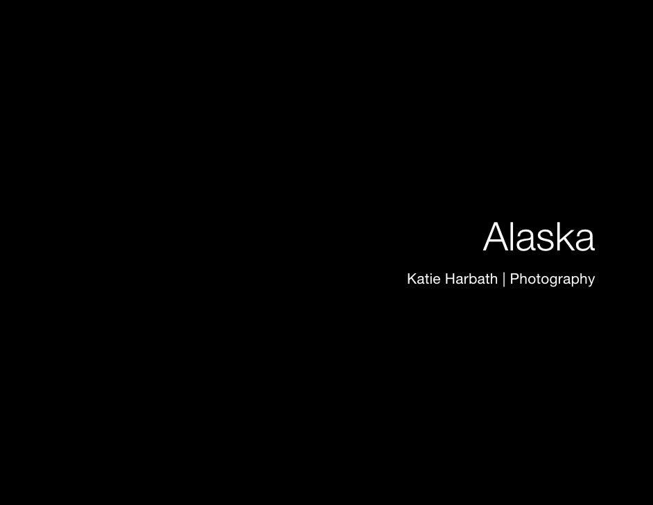 Alaska Photo Book Slide 3