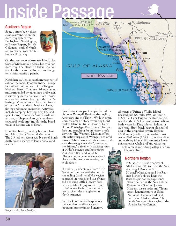 Alaska travel 2011 - Guía oficial de viaje a Alaska 2011
