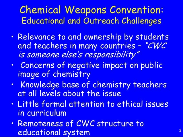 chemical and biological weapons Biological warfare and chemical warfare overlap to an extent, as the use of toxins produced by some living organisms is considered under the provisions of both the biological weapons convention and the chemical weapons convention.