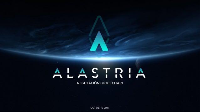 REGULACIÓN BLOCKCHAIN OCTUBRE 2017