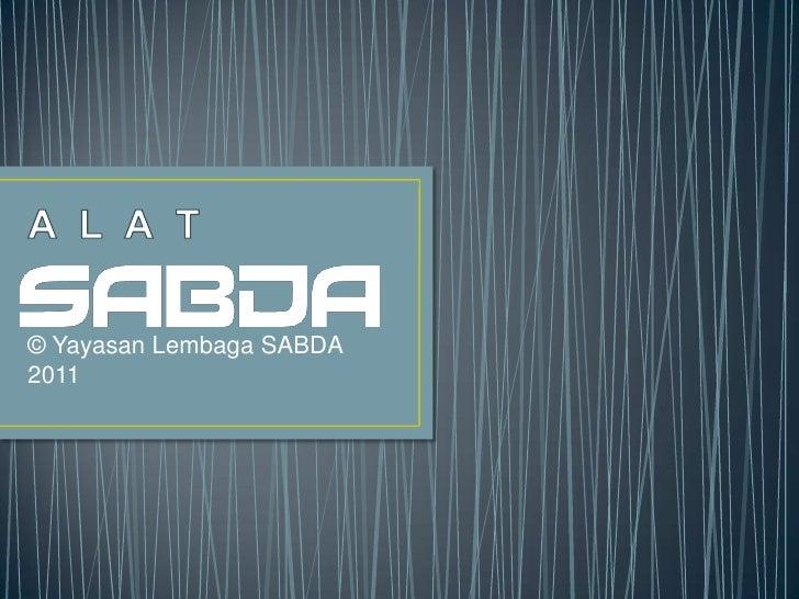 © Yayasan Lembaga SABDA2011