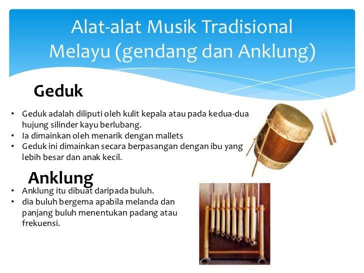 Alat alat musik tradisional malaysia