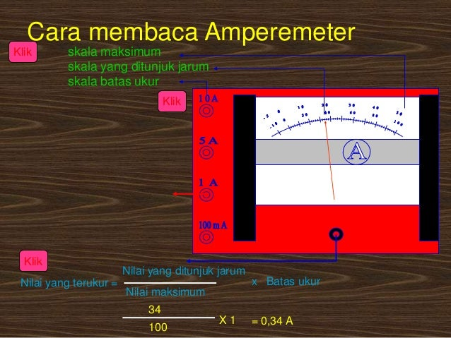 Image Result For Cara Menggunakan Amperemeter