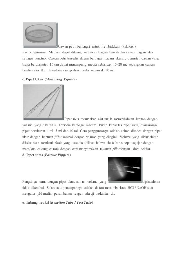 fungsi dan cara penggunaan pipet tetes