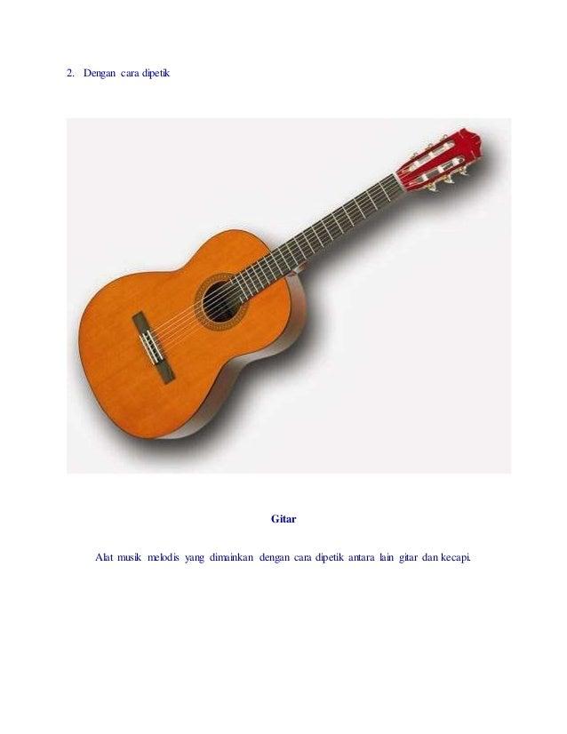 Alat Musik Ritmis Melodis Dan Harmonis Beserta Gambarnya ...