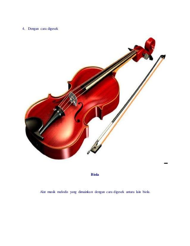 Alat Musik Melodis Dan Ritmis