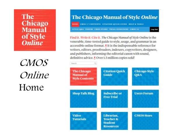 how to write in chicago format