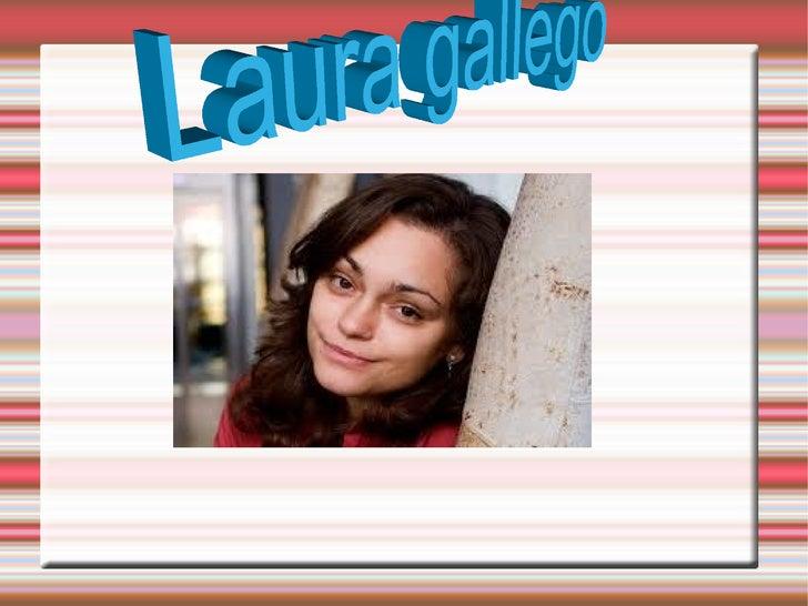 LAURA GALLEGOLaura gallego nació en (Cuart de Poblet, Valencia, 11 deoctubre de 1977) es una escritora española de literat...