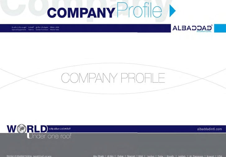 About us ﻣﻦ ﻧﺤﻦAlbaddad International, subsidiary of AlbaddadHolding, is a leading provider of innovative               ...