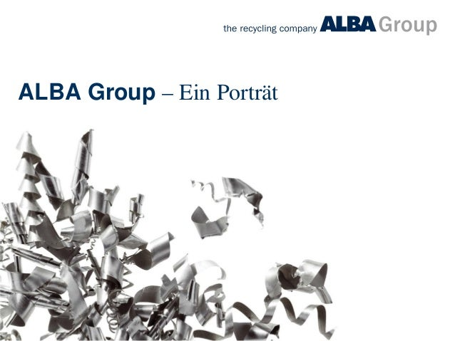 ALBA Group – Ein Porträt