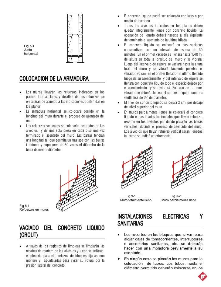 Albañilería de concreto_proceso_constructivo Slide 2