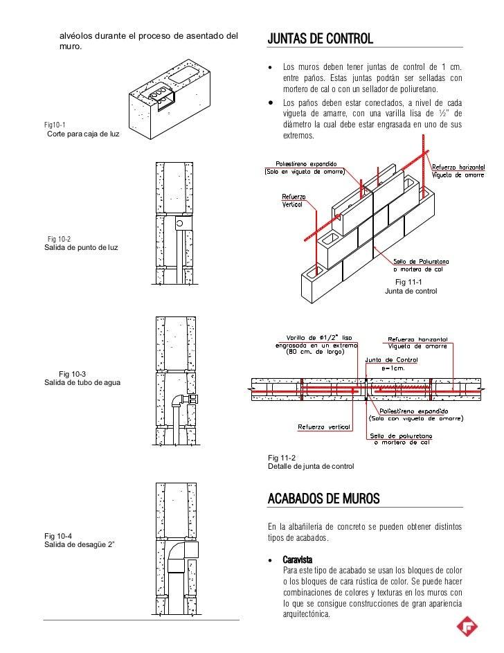 Albañilería de concreto_proceso_constructivo Slide 3