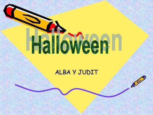 ALBA Y JUDIT
