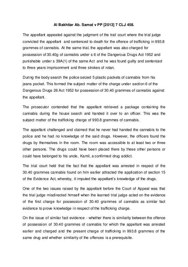 Al Bakhtiar Bin Ab Samat V Public Prosecutor