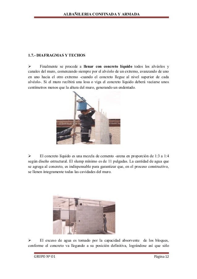 Albanileria confinada y armada - Como pintar techos ...