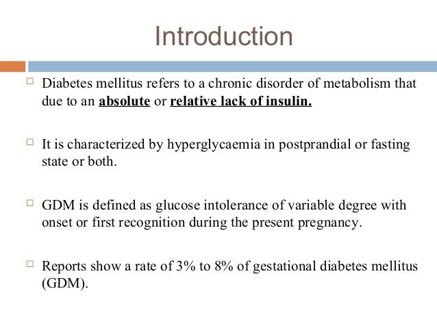 an introduction to diabetes mellitus Introduction to diabetes mellitus mauimaryrn: development of insulin-dependent diabetes mellitus: slow loss of insulin reserve.