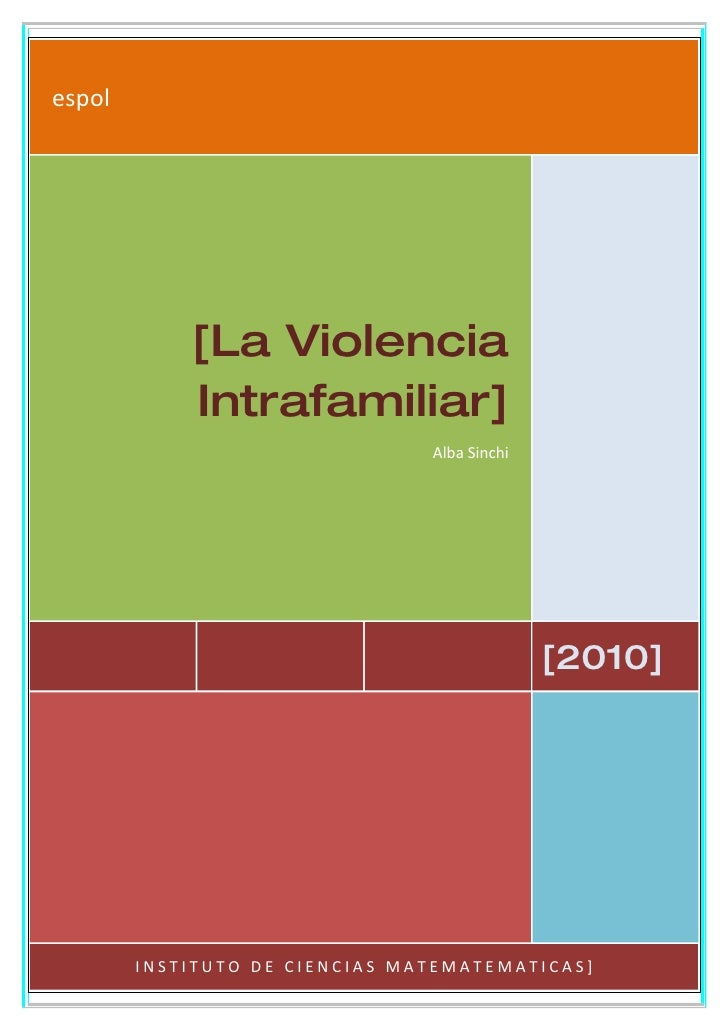espol                 [La Violencia             Intrafamiliar]                                 Alba Sinchi                ...