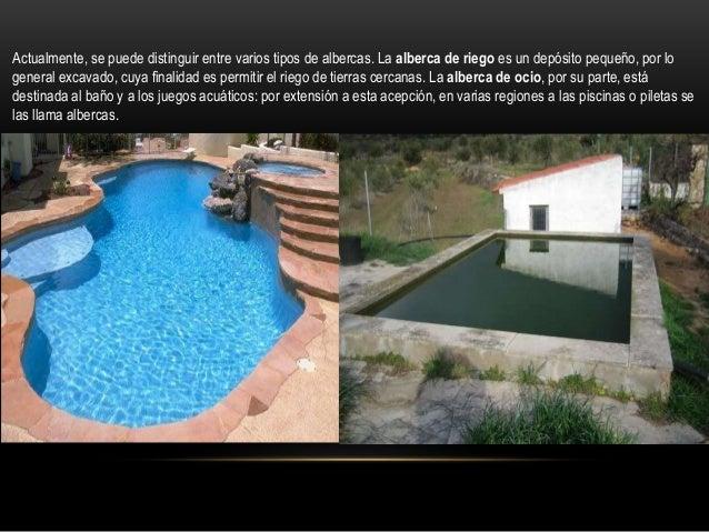 Instalaci n alberca for Alberca para riego