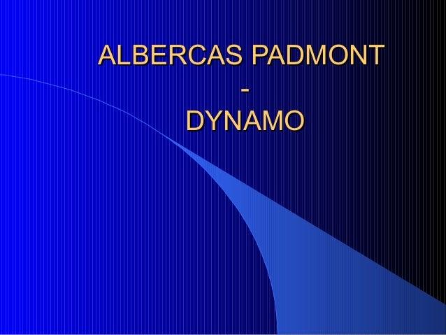 ALBERCAS PADMONTALBERCAS PADMONT--DYNAMODYNAMO