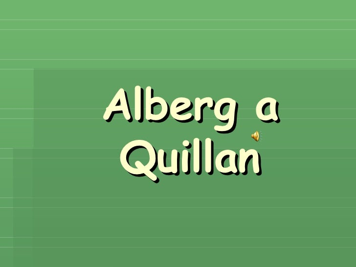 Alberg a Quillan