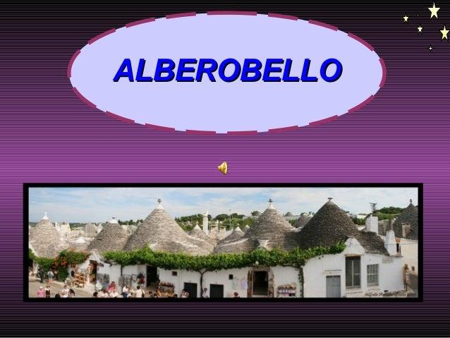 ALBEROBELLOALBEROBELLO