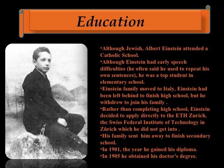 Albert Einstein 3 U003culu003eu003cliu003ealthough Jewish Albert Einstein