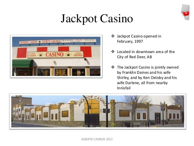 jackpot casino red deer ab