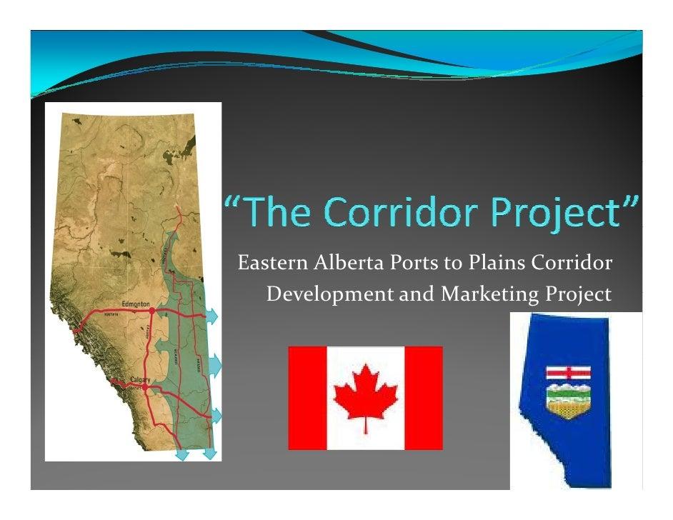 EasternAlbertaPortstoPlainsCorridor    DevelopmentandMarketingProject