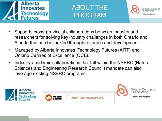 Alberta Innovates Technology Future's Alberta Ontario ...