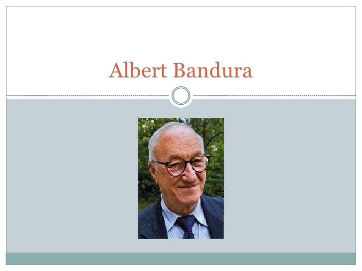 AlbertBandura<br />