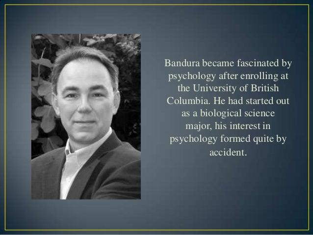 Bandura Theory of Social Learning