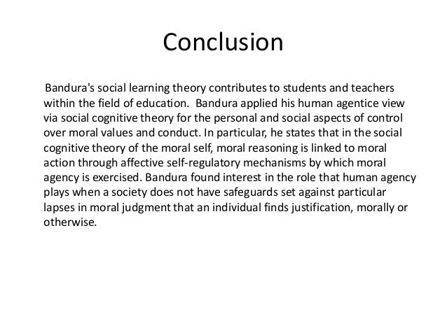albert bandura social learning theory essay Essay instructions: the paper is to build on the profile of albert bandura as an  adult educator and specific applications of his social learning theory in the.