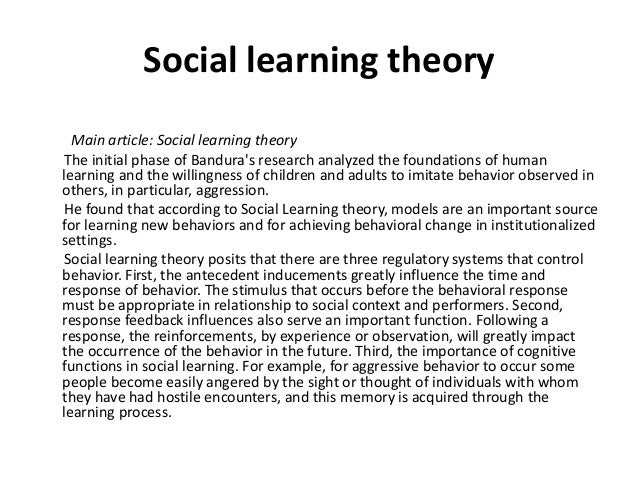 analysis of three learning theories Hilal%peker% % 1% second language theories behaviorist theories (including the contrastive analysis hypothesis) • behaviorists: pavlov, skinner, and bruner • definition: it is the theory saying human and animal learning are similar.