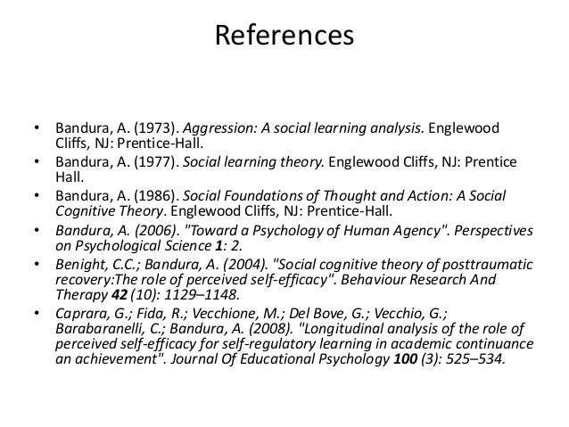 albert bandura 1 Bf skinner & albert bandura no description by on 1 november 2013 tweet comments (0) please log in to add your comment report abuse albert bandura social learning theory according to albert's theory.