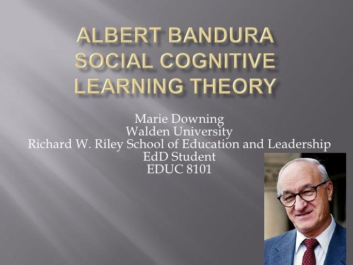 Marie Downing Walden University Richard W. Riley School of Education and Leadership EdD Student EDUC 8101