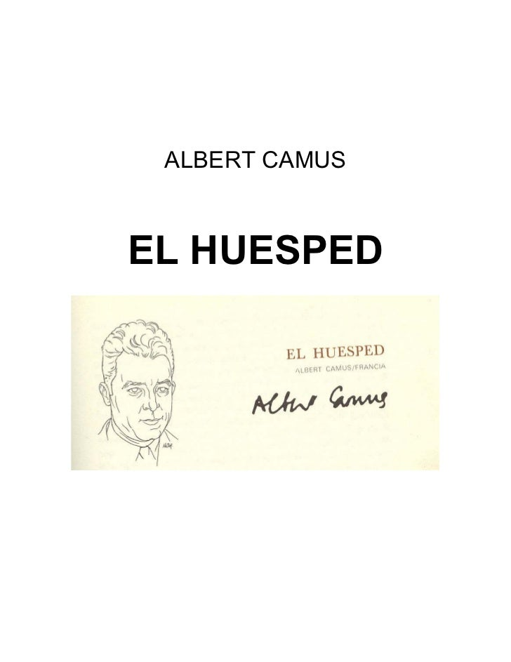 ALBERT CAMUSEL HUESPED