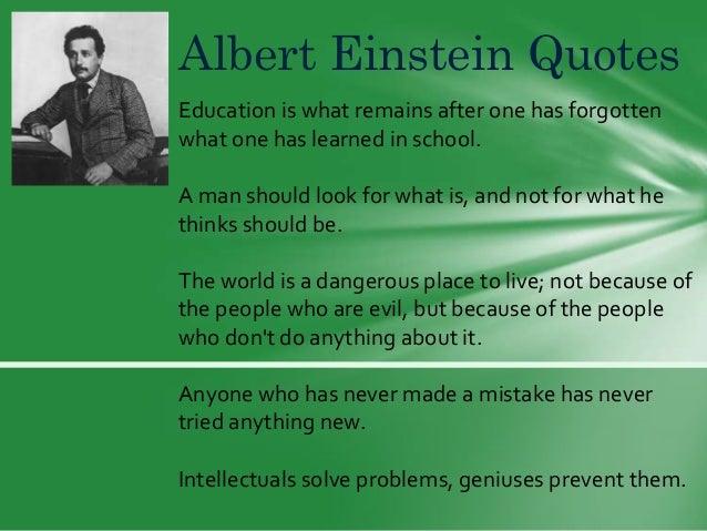 Albert Einstein Quotes About Education 6