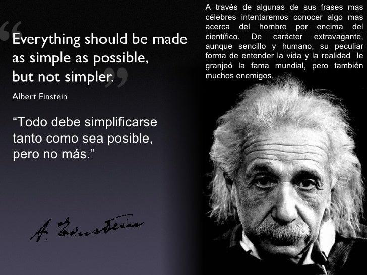 Albert Einstein Sobre La Crisis Y Otras Citas