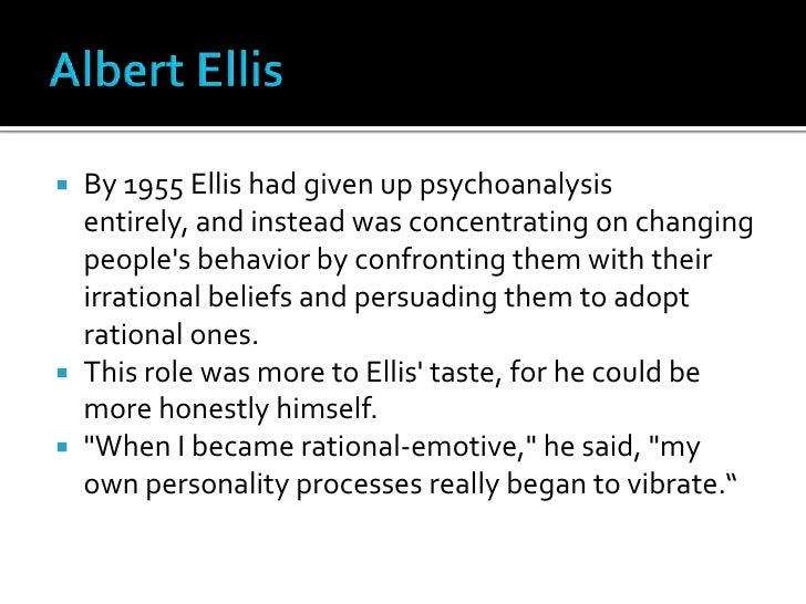 albert ellis 11 irrational beliefs