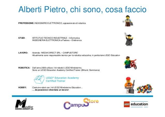 Robotica educativa e coding - Pietro Alberti Slide 2