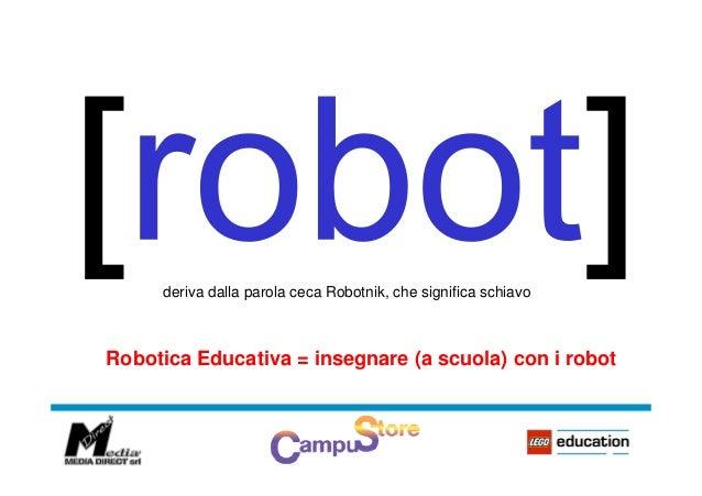 Robotica educativa e coding - Pietro Alberti Slide 3