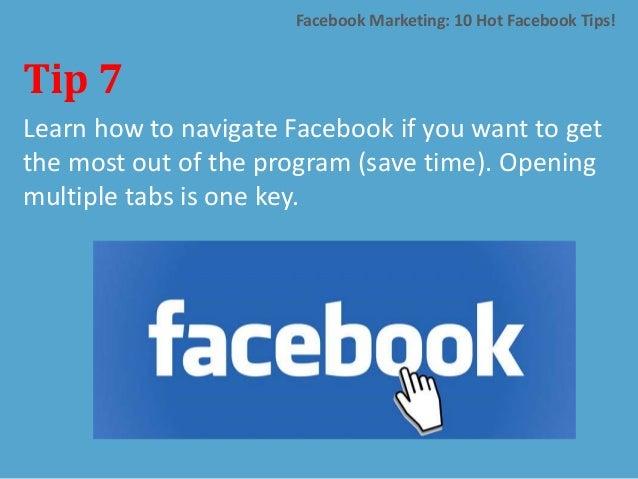 GATE Result Facebook: Facebook Marketing: 10 Hot Facebook Tips: Albert Kaufman