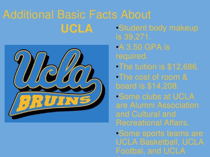 What Is The Cost Of Room And Board At Ucla
