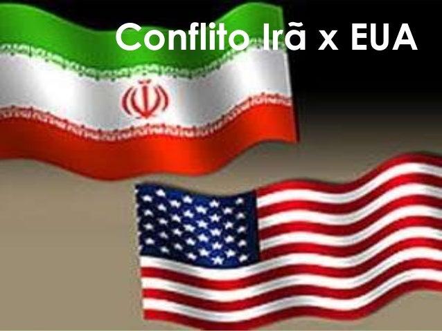 Conflito Irã x EUA