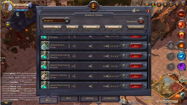 Albion Online - Software Architecture of an MMO (talk at Quo Vadis 20…