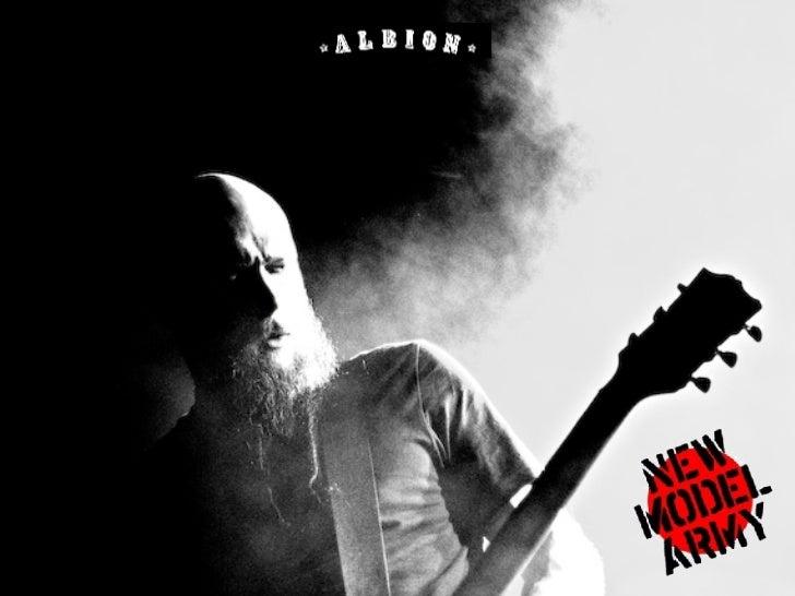 Albion's New Model Agency presentation Slide 3