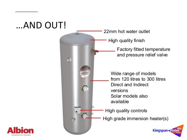 Albion Ultrasteel Hot Water Cylinders | Technical Guide