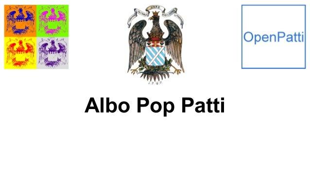 Albo Pop Patti