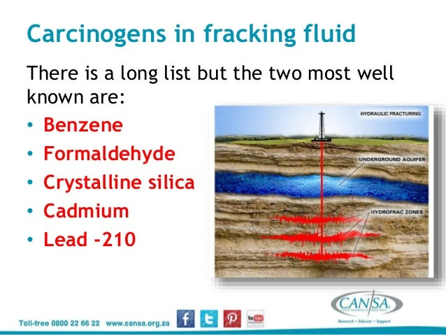 CANSA and Fracking - Carl Albrecht - 21 January 2015